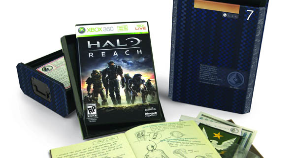 Halo Reach Xbox 360 Limited Edition